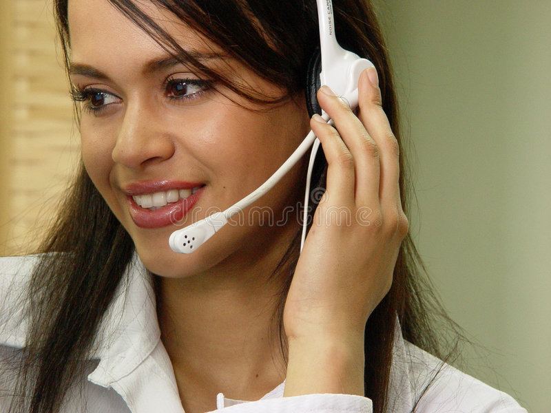 Customer services stock photography
