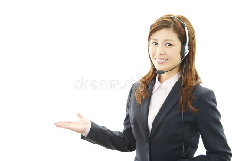 Download Customer services operator stock photo. Image of isolated - 39510102