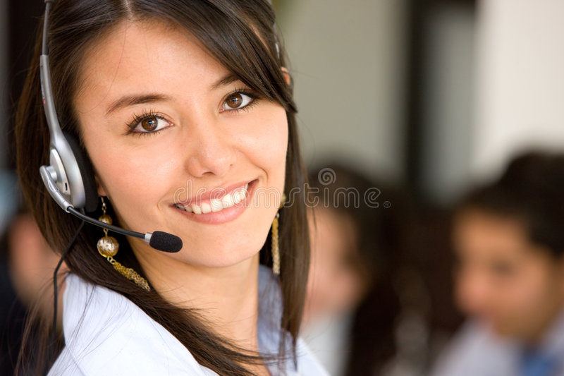 Download Customer Services Representative Stock Photo - Image: 6929576