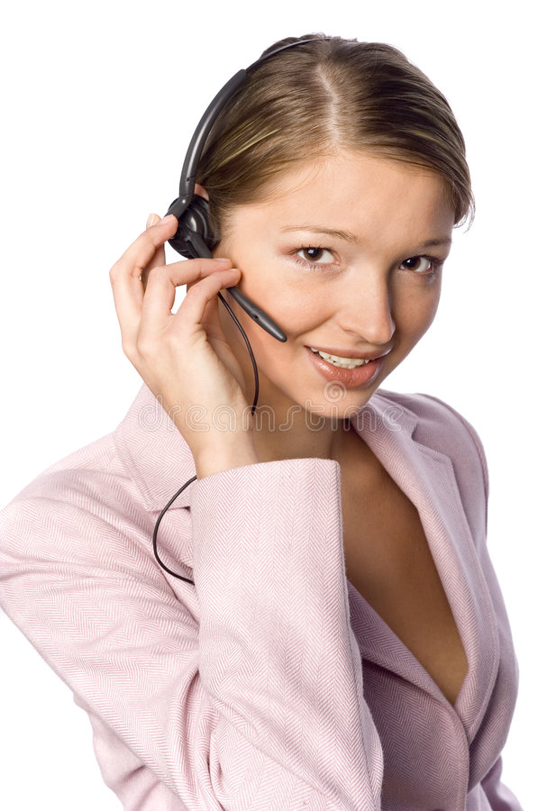 Customer Support stock image