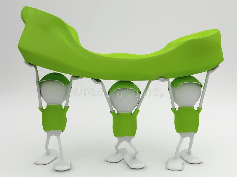 Customer Support vector illustration