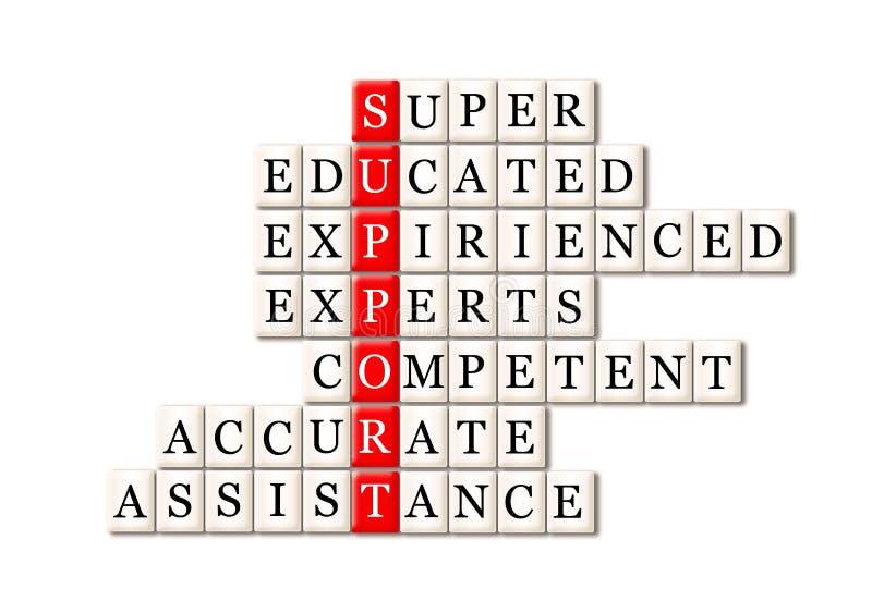 Customer support concept stock illustration