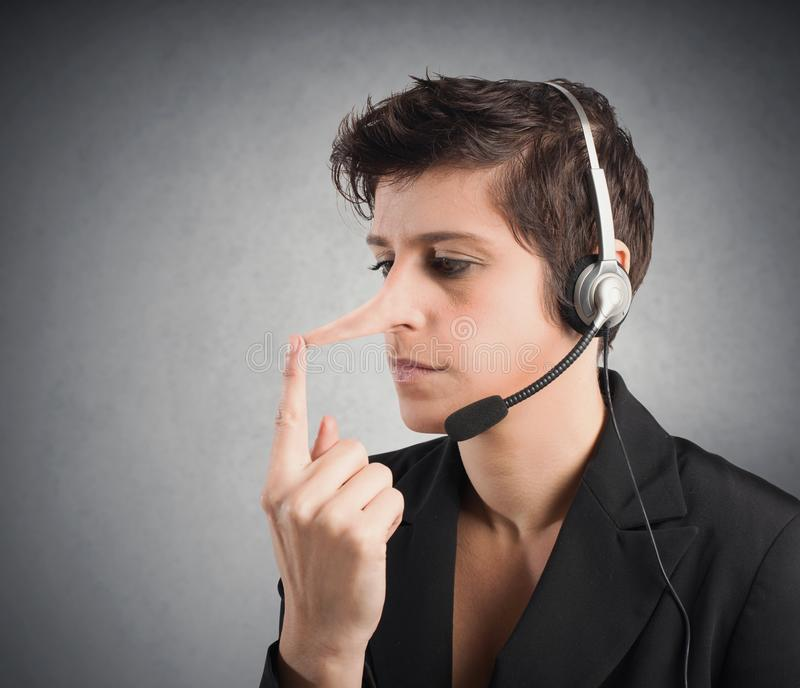Customer Support liar royalty free stock images
