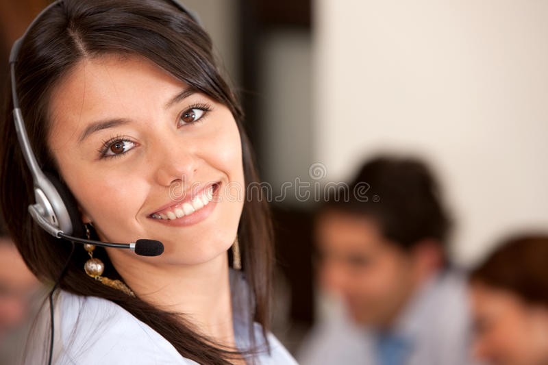 Download Customer support operator stock image. Image of helpdesk - 10265395