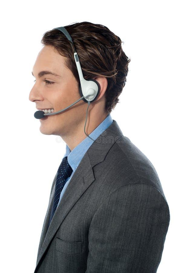 Customer Support Operator Royalty Free Stock Photo