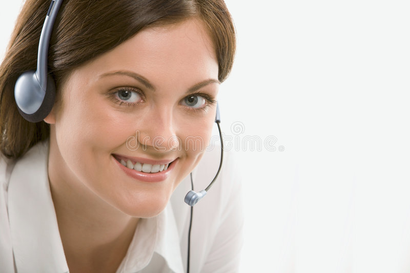 Download Customer support operator stock photo. Image of female - 2964330