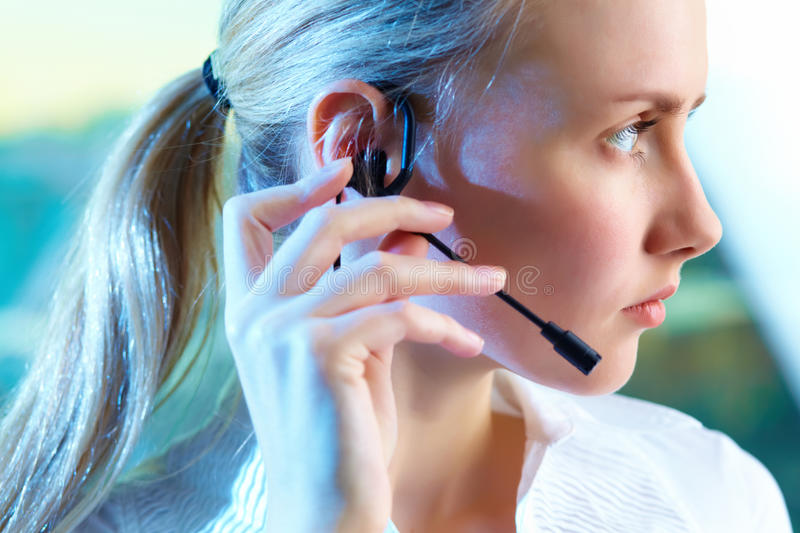 Download Customer Support Representative Stock Image - Image: 25940141