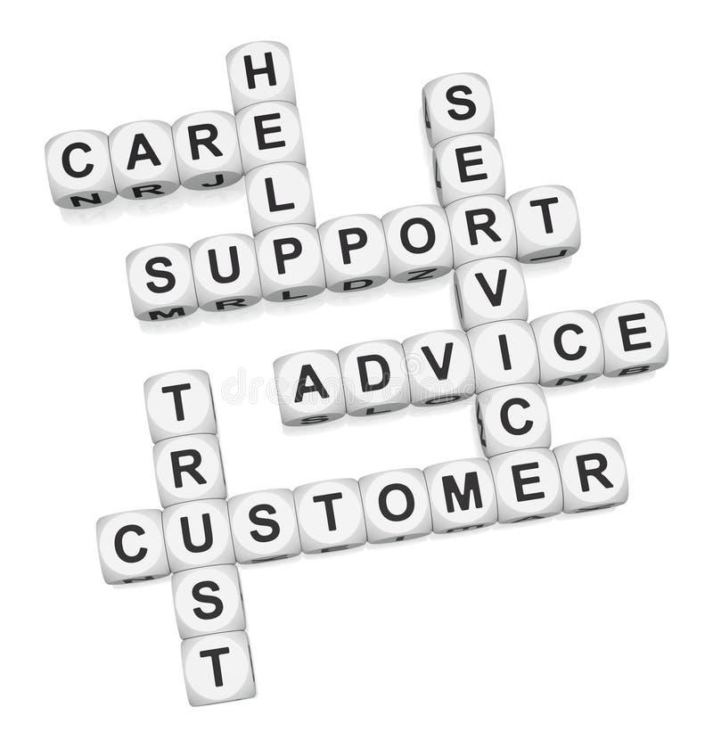 Customer trust royalty free illustration