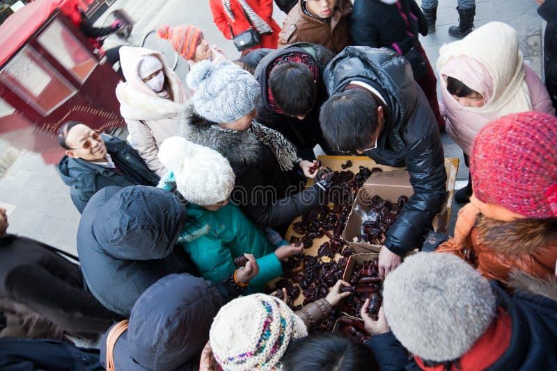 Download Customers Buy Handicrafts In Liulichang, Beijing Editorial Stock Photo - Image: 23150318