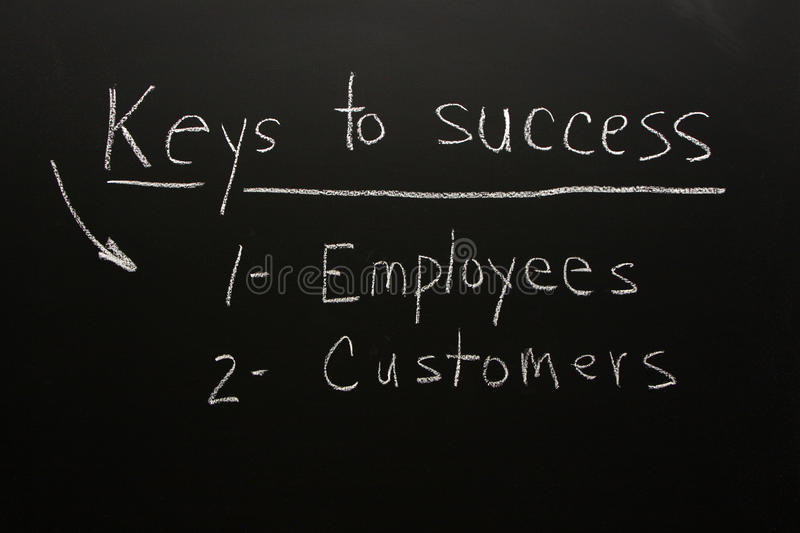 Download Customers & Employees-keys To Success Stock Photo - Image: 10707344