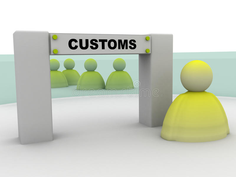 Download Customers Transit Stock Photography - Image: 12510842