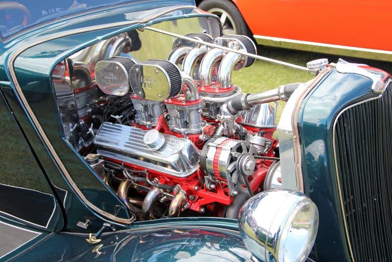 Customised cromou o motor do baixio foto de stock royalty free