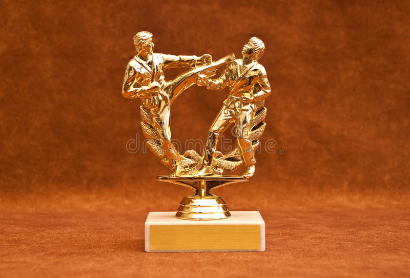 Customizable Competition Trophy royalty free stock images