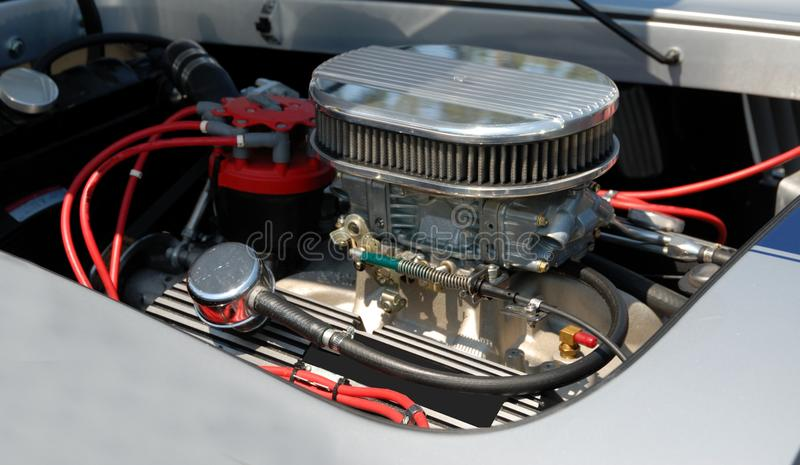 Download Customized car engine stock image. Image of grey, power - 19463761