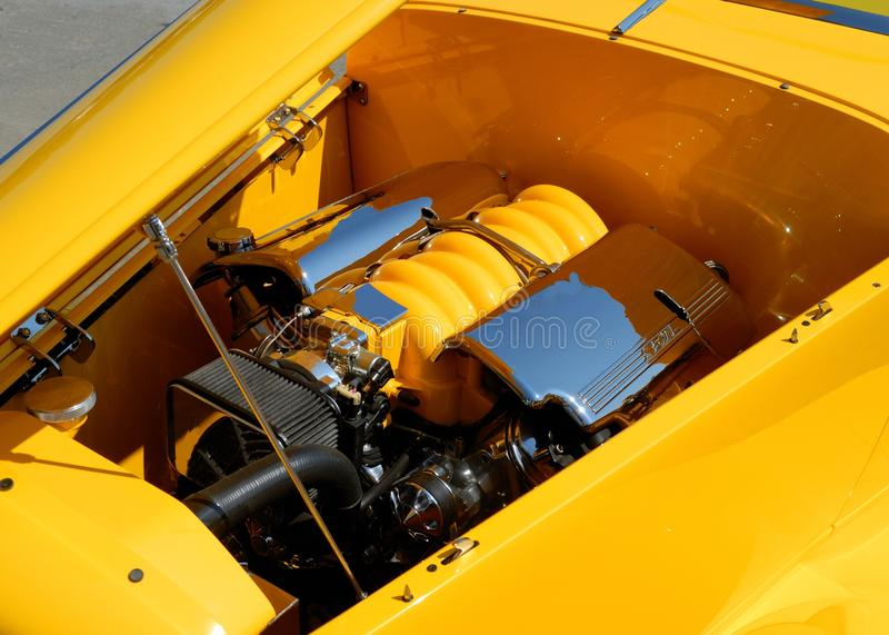 Download Customized car engine stock photo. Image of colourful - 19808038