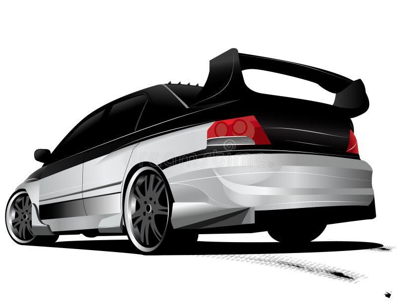 Download Customized Mitsubishi Evo Evolution Stock Illustration - Image: 8666003