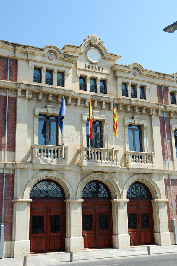 Download Customs building stock photo. Image of european, blue - 26543690