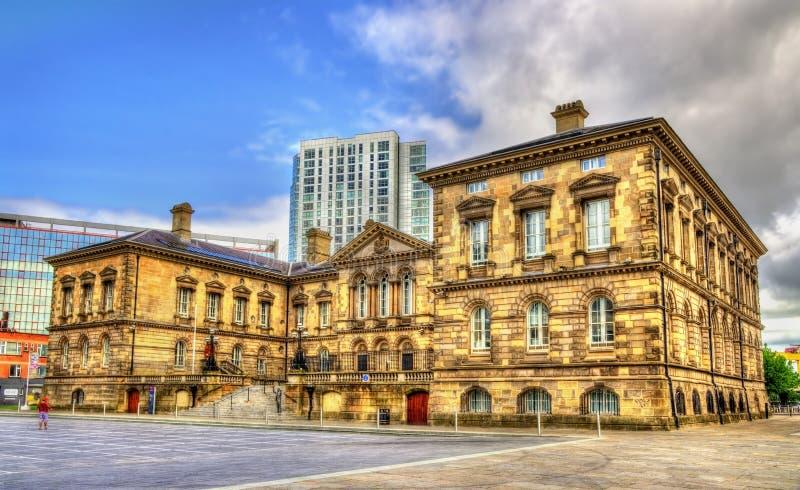 The Customs House in Belfast. Northern Ireland stock image