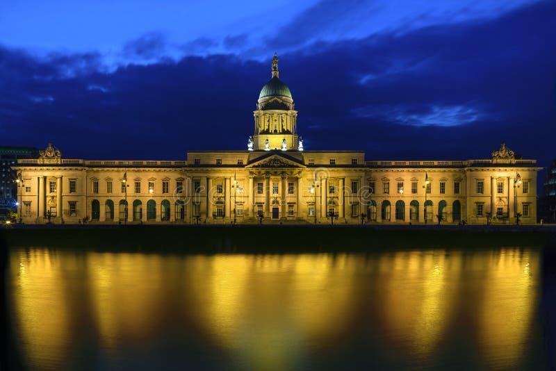 Customs House - Dublin - Ireland royalty free stock photo