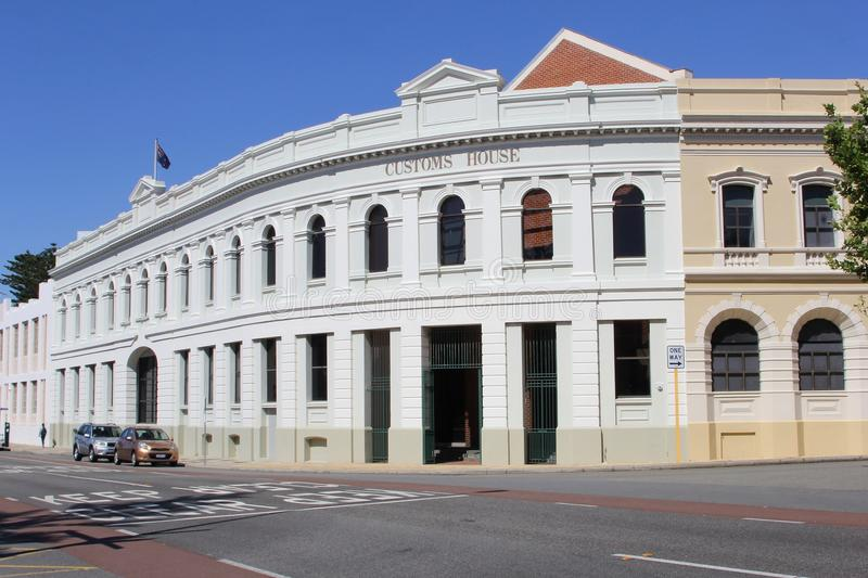 Customs house, an heritage building in Fremantle, Western Australia royalty free stock image