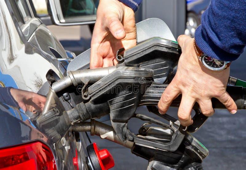 Custos altos do gás fotografia de stock royalty free