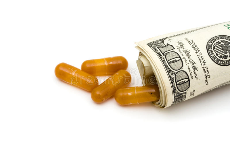 Custos da medicamentação fotografia de stock royalty free