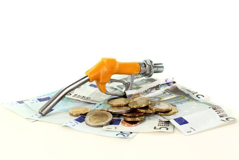 Custos do gás fotografia de stock royalty free