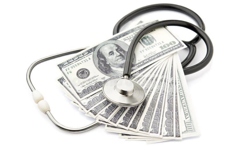 Custos dos cuidados médicos imagens de stock royalty free