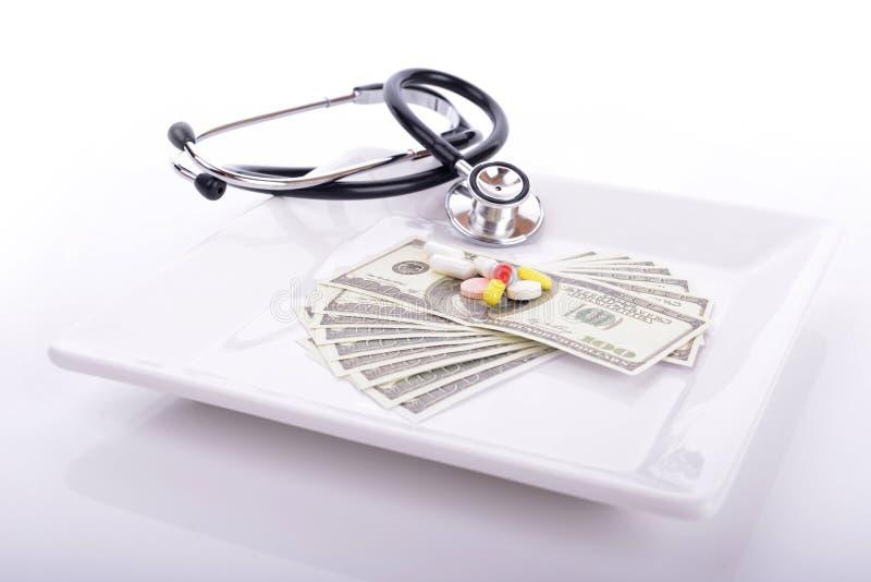 Custos médicos foto de stock royalty free