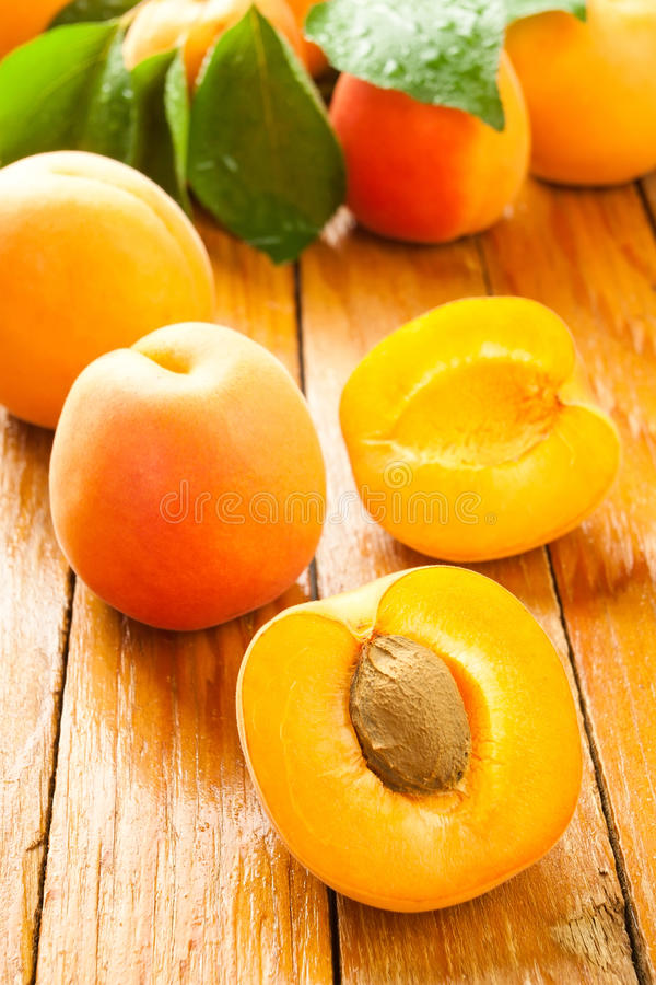 Download Cut Apricot Royalty Free Stock Photography - Image: 25567547