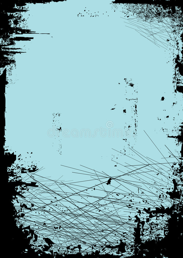 Cut board blue. Abstract tired and worn background ideal for placing copy on vector illustration