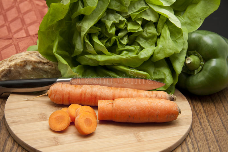 Download Cut carrot stock photo. Image of celery, carrot, leaf - 18063000