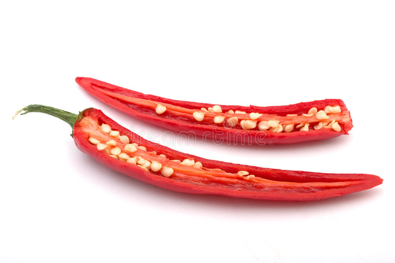 Download Cut chili pepper stock photo. Image of vegetable, gourmet - 2507788