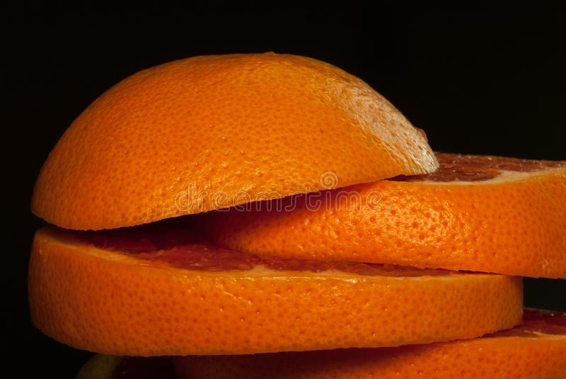 Cut citrus royalty free stock images