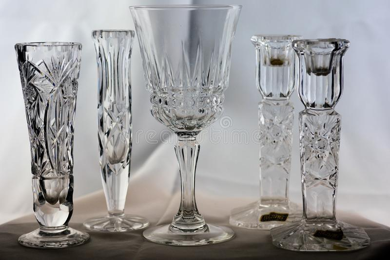 Cut Glass Crystal royalty free stock photography