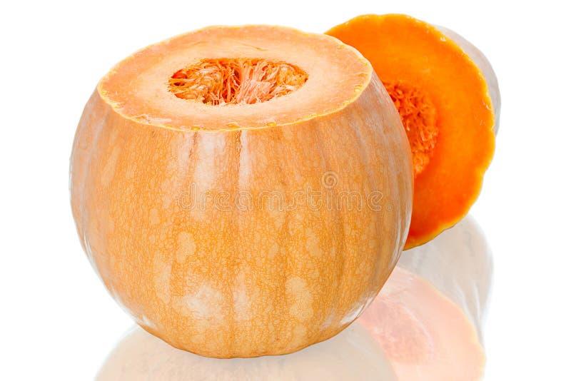 Download Cut the orange pumpkin stock image. Image of nature, pumpkin - 23642695