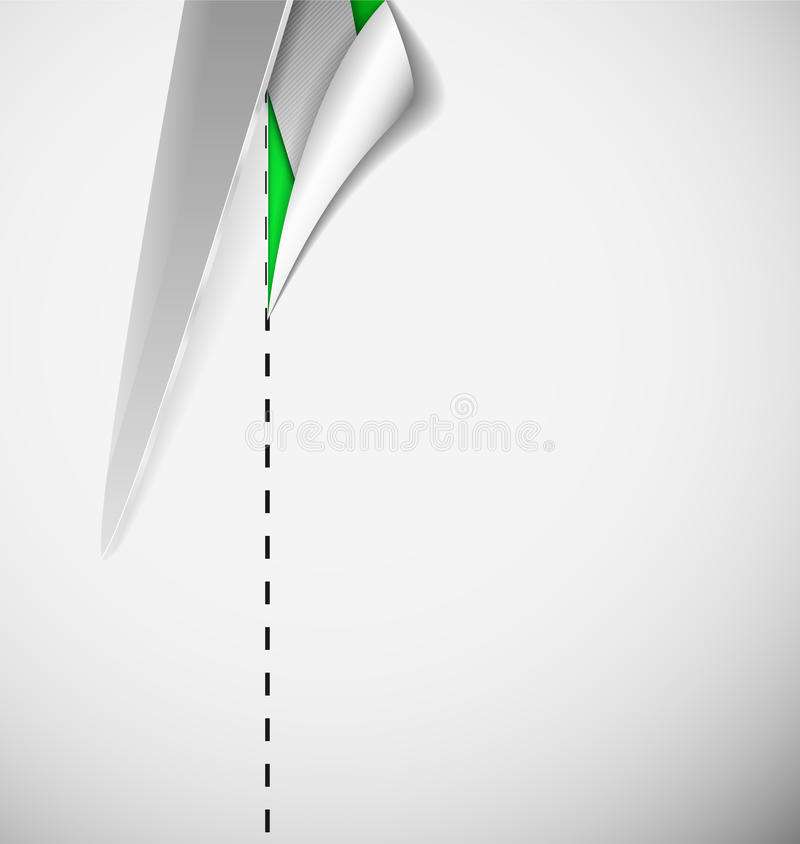 Download Cut paper stock vector. Illustration of paper, banner - 26634009