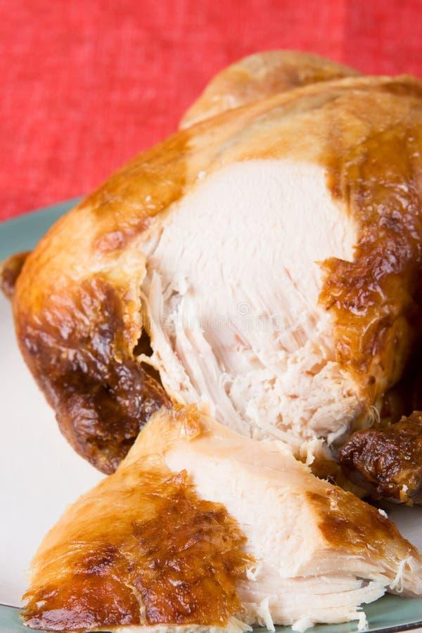 Free Cut Slices Of Roast Chicken Stock Photos - 4081163