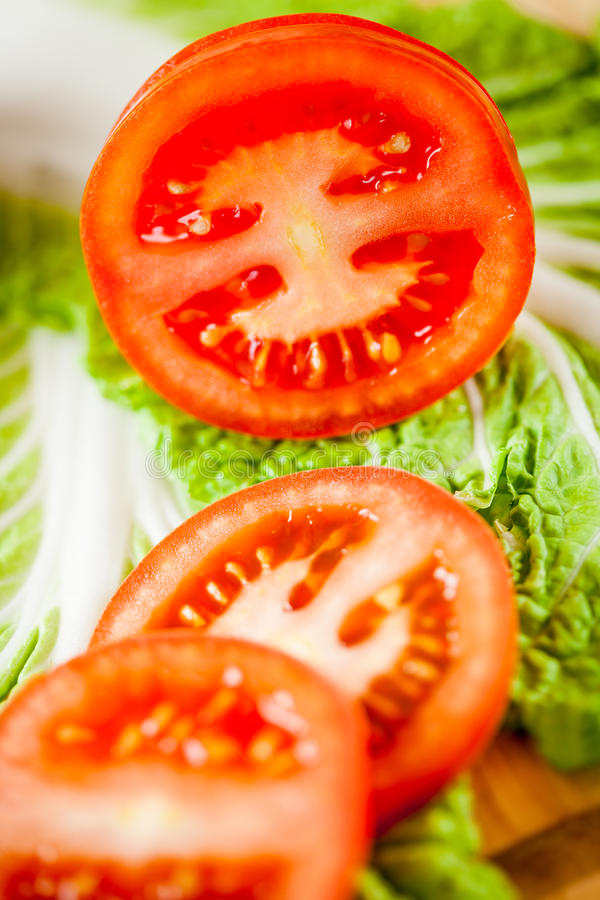 Download Cut Tomatoes Stock Images - Image: 24646214