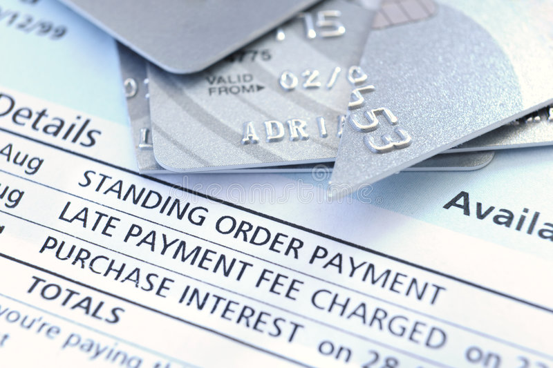 Download Cut up credit card stock photo. Image of loan, late, owing - 8550162