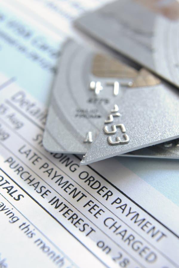Cut Up Credit Card Stock Photos
