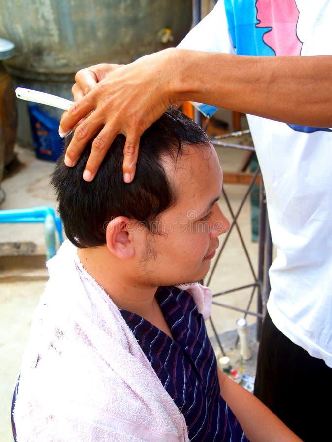 cut włosy obrazy royalty free