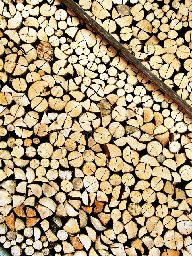 Cut wood stock royalty free stock images