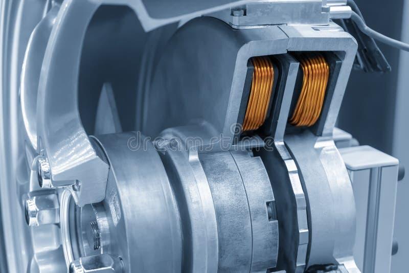 Cutaway мотор электротранспорта стоковая фотография rf