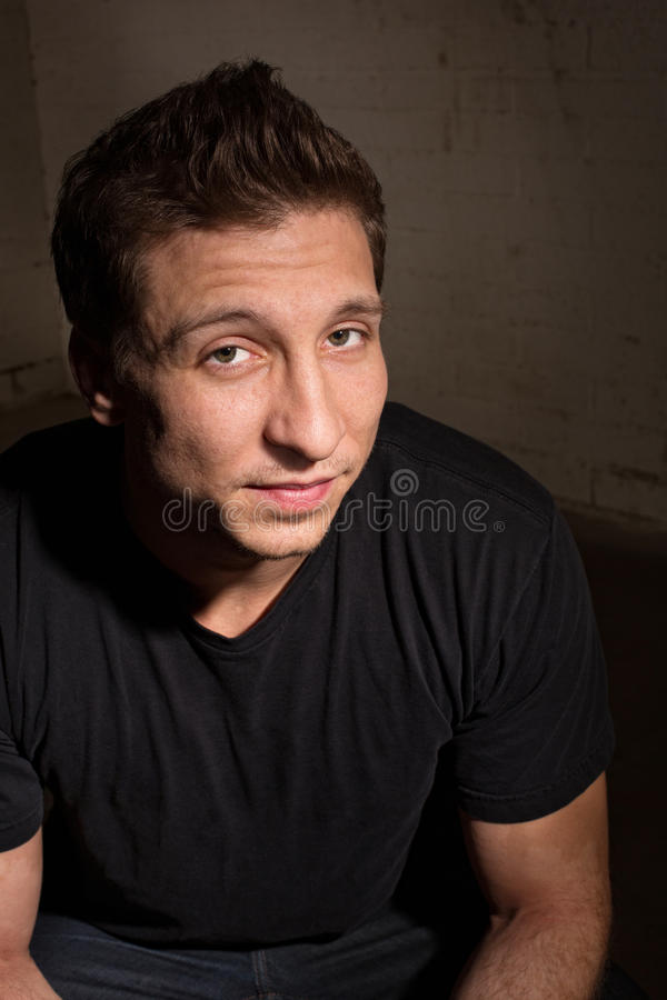 Cute Adult Male stock photography