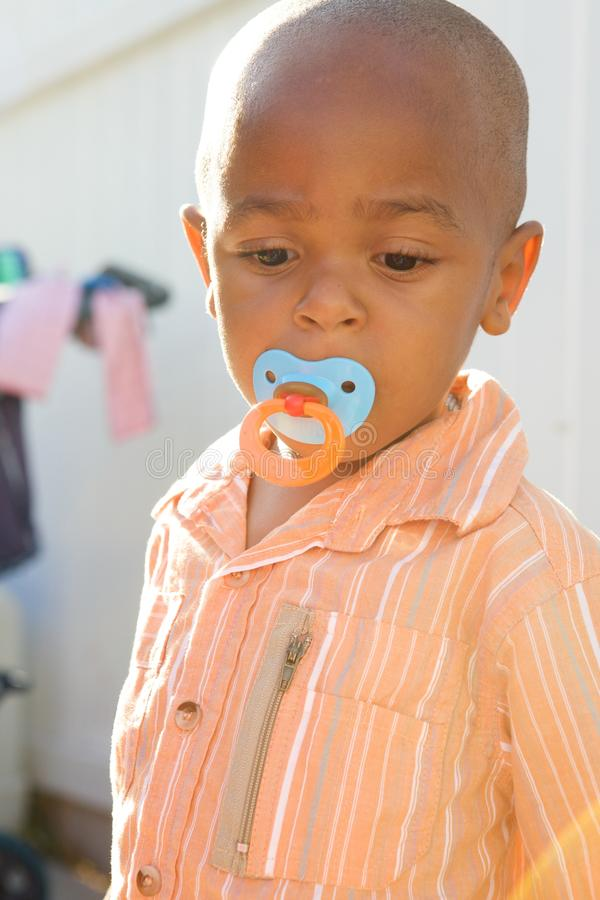 Download Cute African American Boy stock image. Image of cute - 12233681