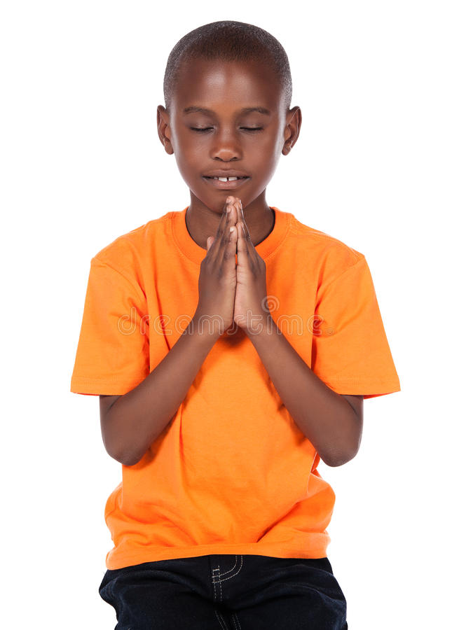 Free Cute African Boy Royalty Free Stock Photography - 34175447