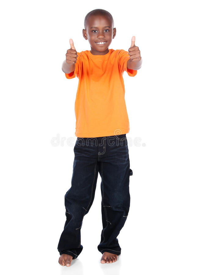 Free Cute African Boy Royalty Free Stock Image - 34175456