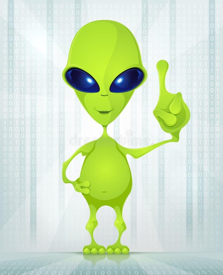 Download Cute Alien stock vector. Illustration of character, imagination - 26097238