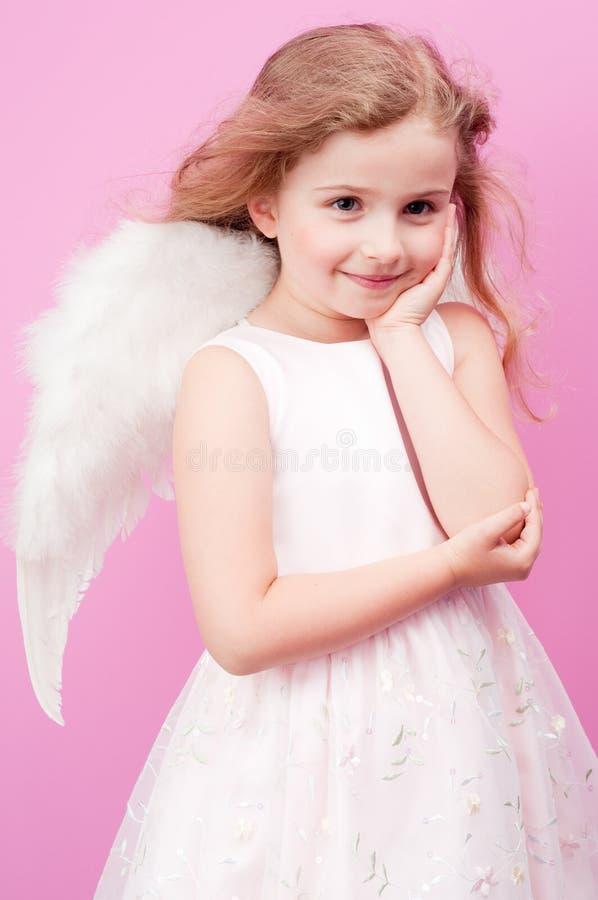 Cute Angel Stock Photo